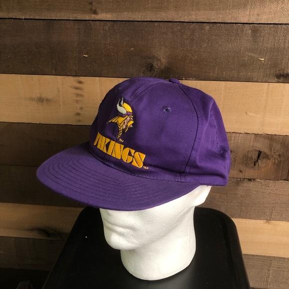 Toddler Size Minnesota Vikings NFL Vintage Snapback Cap Hat
